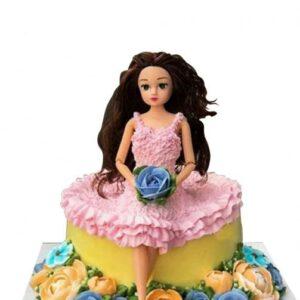 Princess Roses Cake