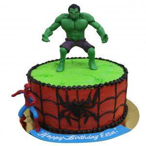 HERO CAKE 2001