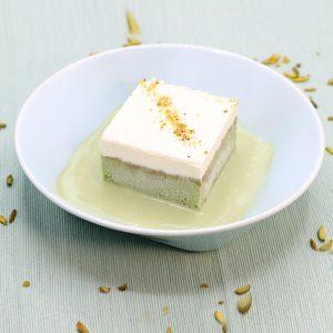 Milk Cake Pistachio