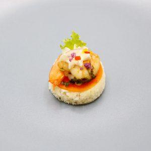Canapés Shrimp